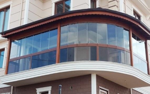 Ahşap Balkon Kapama AD