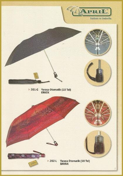 April Yağmur şemsiyeleri APL-02
