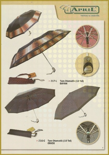 Kaliteli şemsiye KL-04