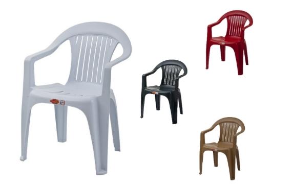 Kolçaklı Plastik sandalye